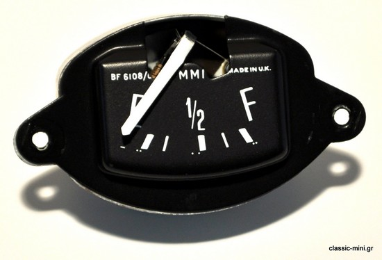 Fuel Gauge in Tacho Black