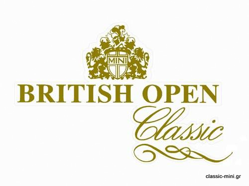 'British Open' Sticker Kit