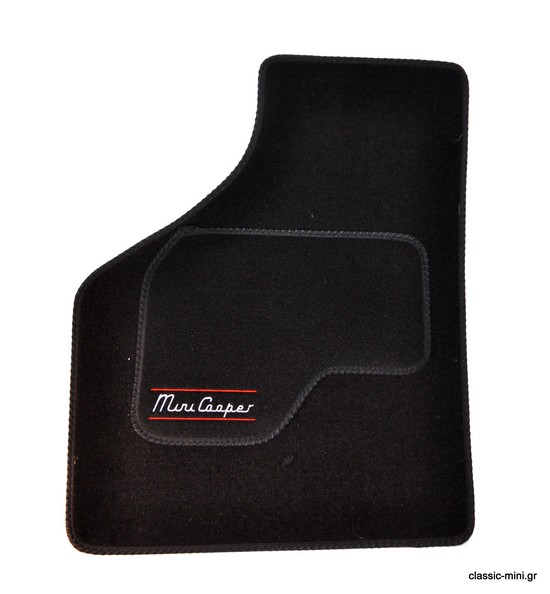 "Floor Mat Set ""Cooper"" Black"