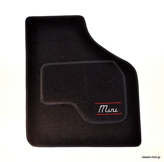 "Floor mat Set ""Mini"" Black"