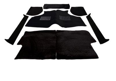 Carpet Set Black Budget