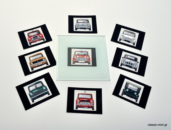 Classic-Mini Coasters - Set