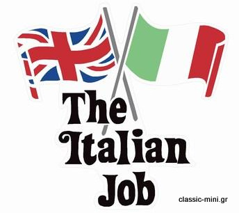 'Italian Job' Sticker Kit