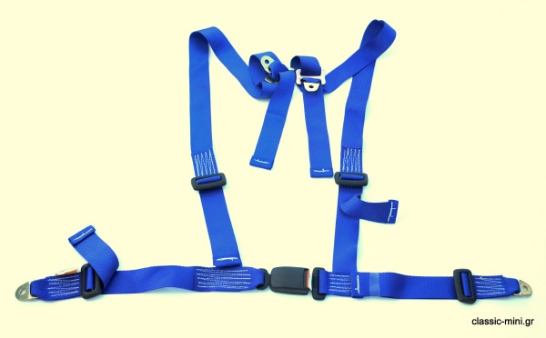 4-Point Security Belt Blue