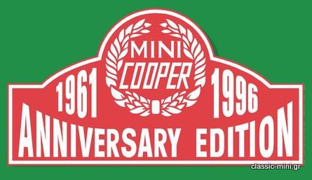 'Mini Cooper 35' Sticker Kit