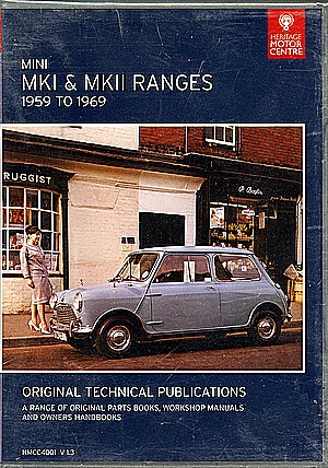 CD MINI MK1 & MKII RANGES 1959-1969