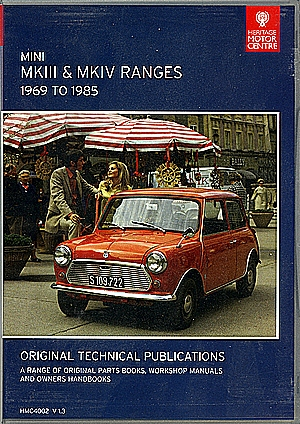 CD MKIII & MKIV RANGES 1969-1985