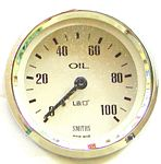 Oil Pressure Mechanical Magnolia Face 0/100LB