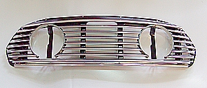 St/St Grille with Driving Lamp Holes